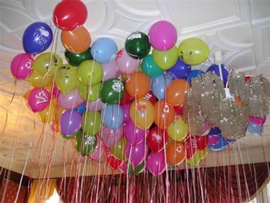 Balonlu bir karşılama