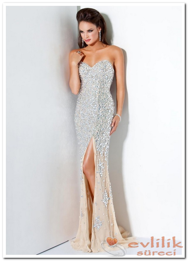 Güzel Abiye Modelleri 2015