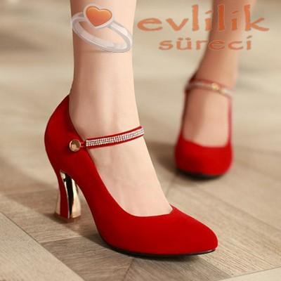 Çok sade ve asil nişan ayakkabı modelleri