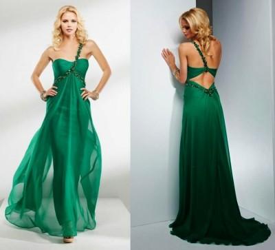 Sırt Dekolteli Çok Hoş Nişan Elbise Modelleri