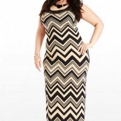 Desenli kilolular için nişan elbise modelleri