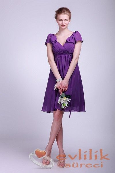 Aile Arası Söz Kesimind eGiyilebilecek Elbise Modelleri