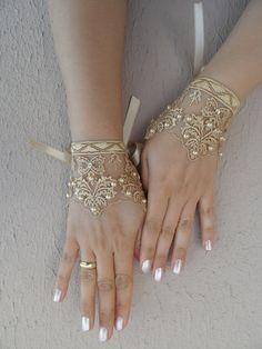 Değişik gelin eldiven modelleri