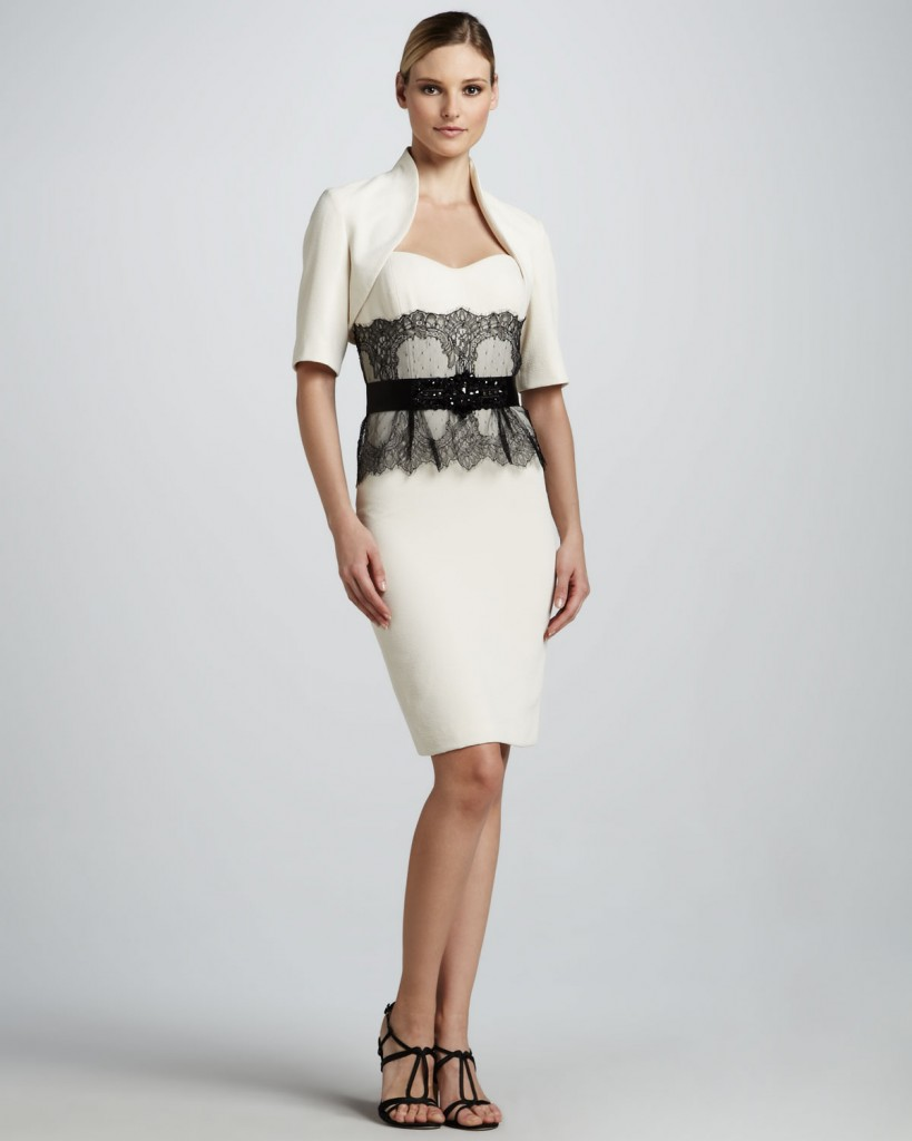 Özel Günleriniz İçin Bolerolu Elbise Modelleri