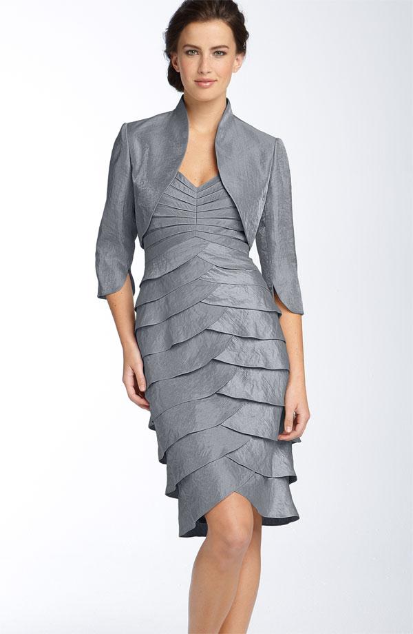 Bolerolu Elbise Modelleri 2015