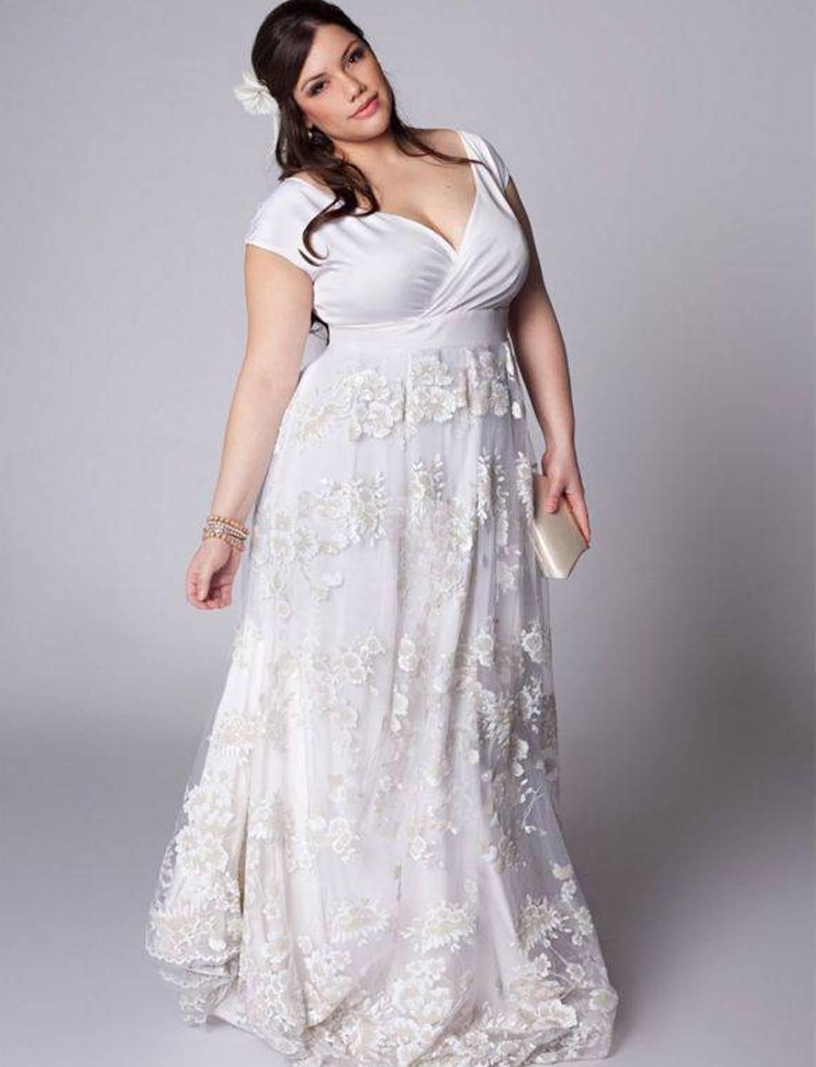 Свадебное Платье Купить Для Полных