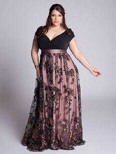 Kilolular için uzun söz elbise modelleri