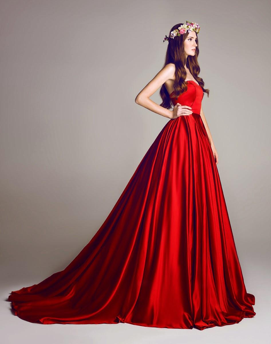 En Gösterişli Kırmızı Nişanlık Modelleri