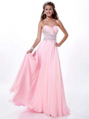 En Hoş Pembe Nişan Elbise Modelleri