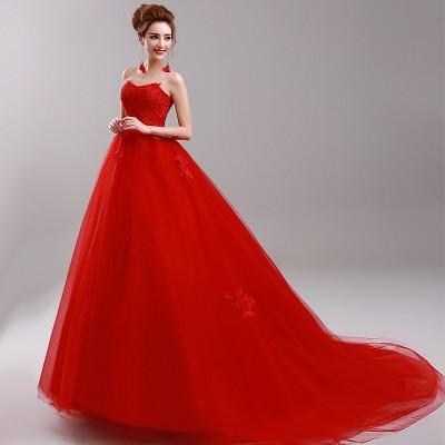 Gösterişli Kırmızı Nişanlık Elbiseleri