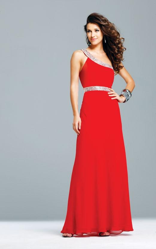 Kırmızı Nişanlık Abiye Modelleri