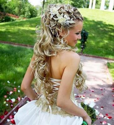 En Güzel Gelin Saç Modelleri 2016