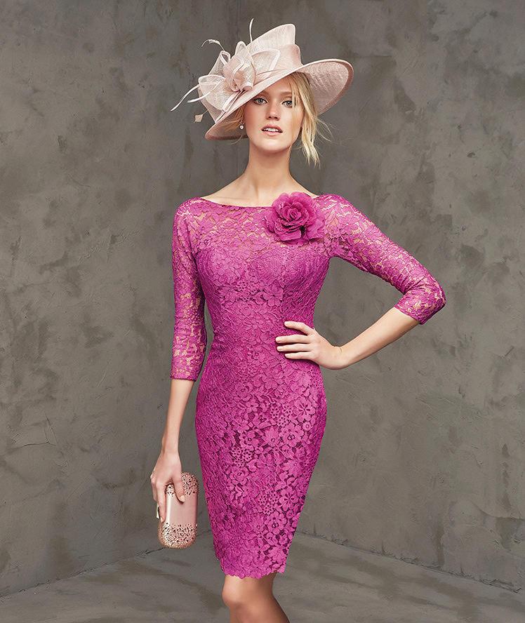 Dantel İşlemeli Elbise Modelleri