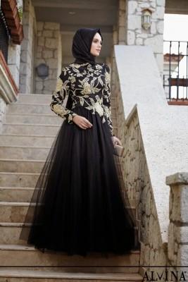 Alvina Tesettür Nişan Abiye Modelleri 2016
