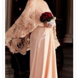 En Güzel Dantel İşlemeli Tesettür Nişan Elbise Modelleri 2016