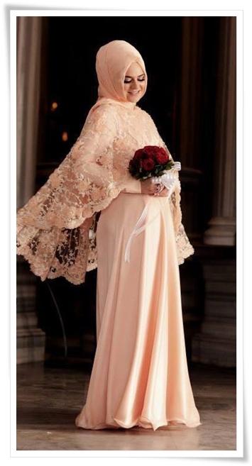Tesettür Nişan Elbise Modelleri 2016