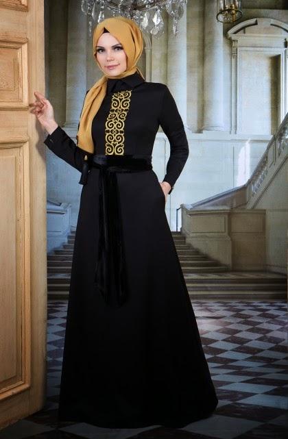 En Güzel Tesettür Nişan Abiye Modelleri 2016