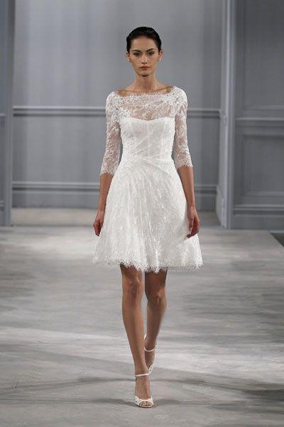Güpür Detaylı En Güzel Nikah Elbiseleri 2016