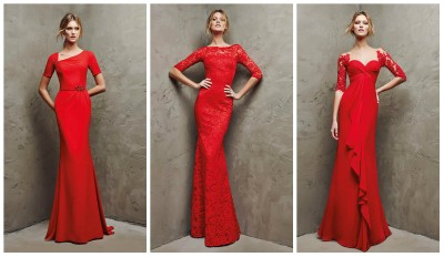 Yeni Sezon Kırmızı Renkli Nişan İçin En Güzel Abiye Modelleri