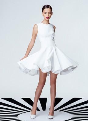 Beyaz Renkli Vakko Nişanlık Modelleri 2016