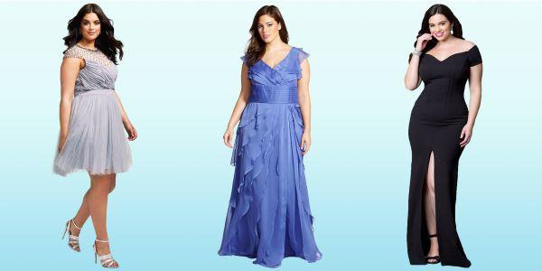 Kilolu Bayanlar İçin En Güzel Söz Elbiseleri 2016