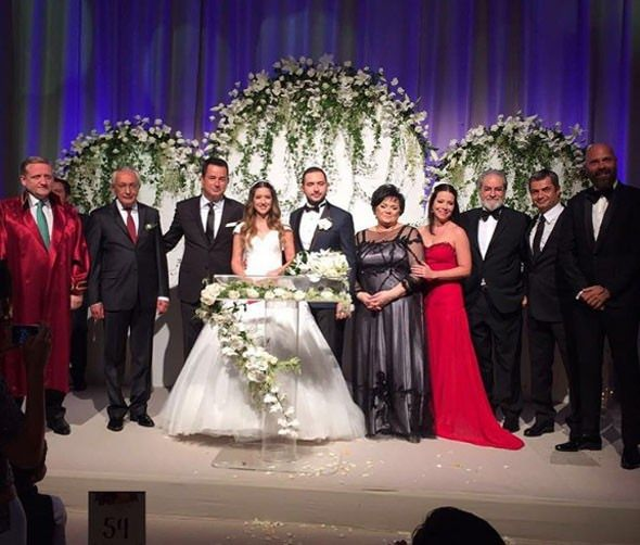 Acun Ilıcalının Kızı Banu Ilıcalının Muhteşem Düğünü