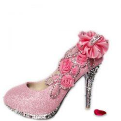 2017 Renkli Gelin Ayakkabı Modelleri