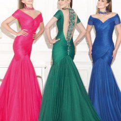 En İhtişamlı Nişan İçin Elbise Modelleri