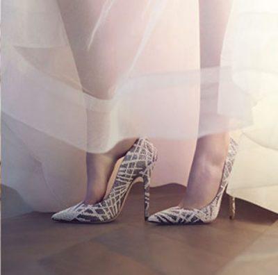 En Şık Renkli Gelin Ayakkabıları