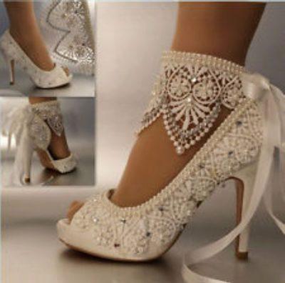 En iddialı gelin ayakkabı modelleri