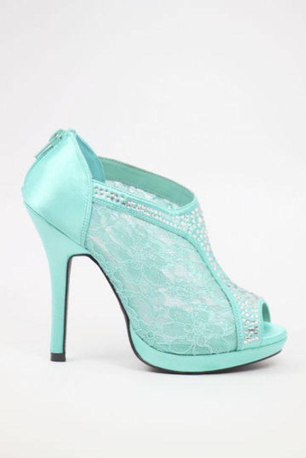 En Şirin Renkli Gelin Ayakkabısı Modelleri