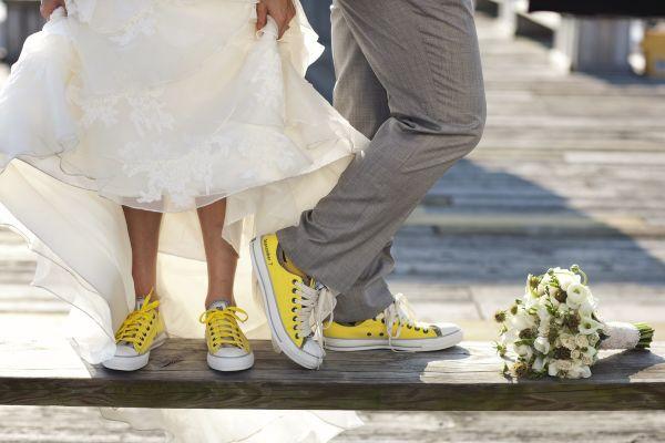 En Farklı Gelin Damat Ayakkabı Kombinleri