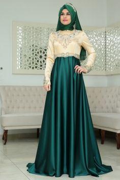 Tesettür Söz Elbise Modelleri 2017