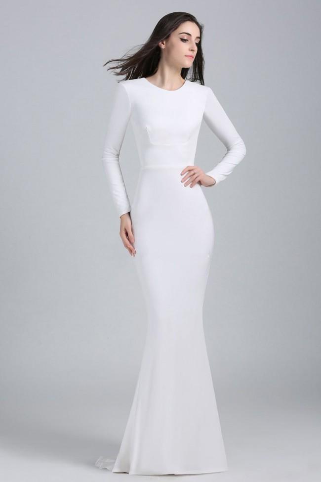 Gelinlik Benzeri Elbise Modelleri