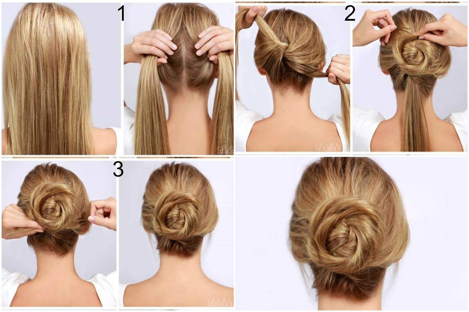 En Pratiği Topuz Saç Modelleri Aslında