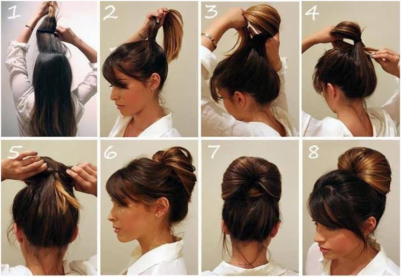 Kendi Kendinize Yapabileceğiniz Pratik Saç Modelleri