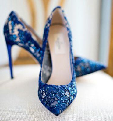 Mavi Renkli Dantel Ayakkabı Modelleri 2017