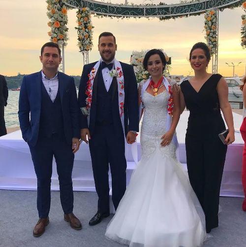 Ümit Erdim Seda Çınar Evlendi
