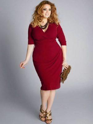 En Şık Kilolu Söz Elbise Modelleri 2018