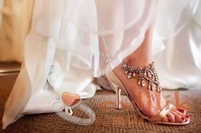 Çok Hoş Tasarımlı Gelin Ayakkabı Modelleri