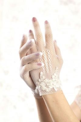 En farklı gelin eldiven modelleri