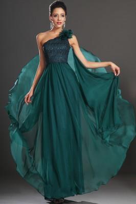 En Zarif Yeşil Renkli Abiye Modelleri