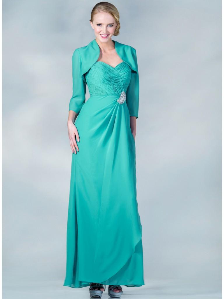 Nişan İçin Çok Zarif Bolerolu Elbise Modeli