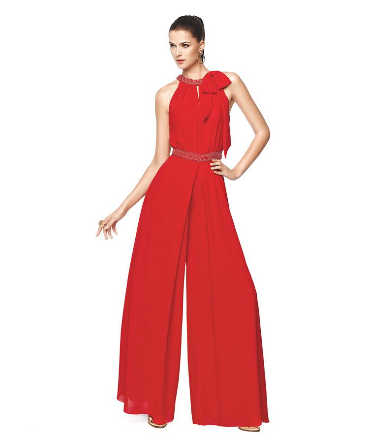 Nikah İçin Çok Zarif Uzun Pantolonlu Abiye Tarzı Model