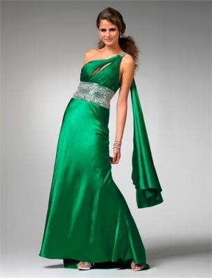 Yeni Sezon Yeşil Renkli Abiye Modelleri