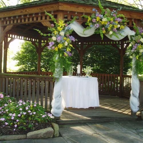 Kır Düğünü Gelin Masa Süslemesi