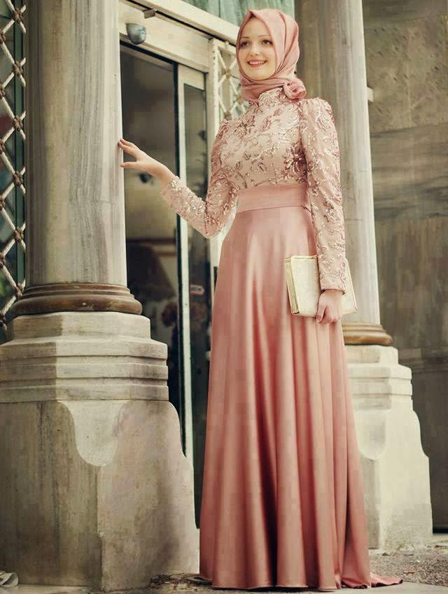 En Güzel Tesettür Nikah Elbise Modelleri