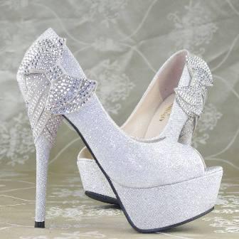 Platform Topuk Nişan Ayakkabı Modelleri