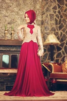 En Yeni Tesettür Söz Elbise Modelleri