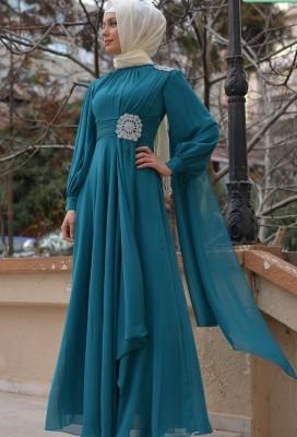 SefaMerve Giyim Tesettür Söz Elbise Modelleri